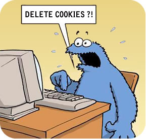 cookie monster deleting cookies
